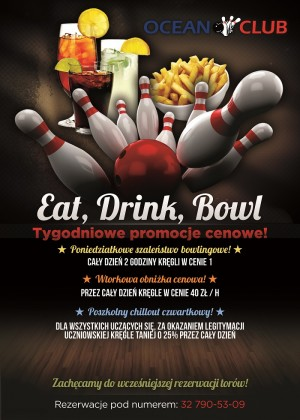 Eat and Bowling Flyermin